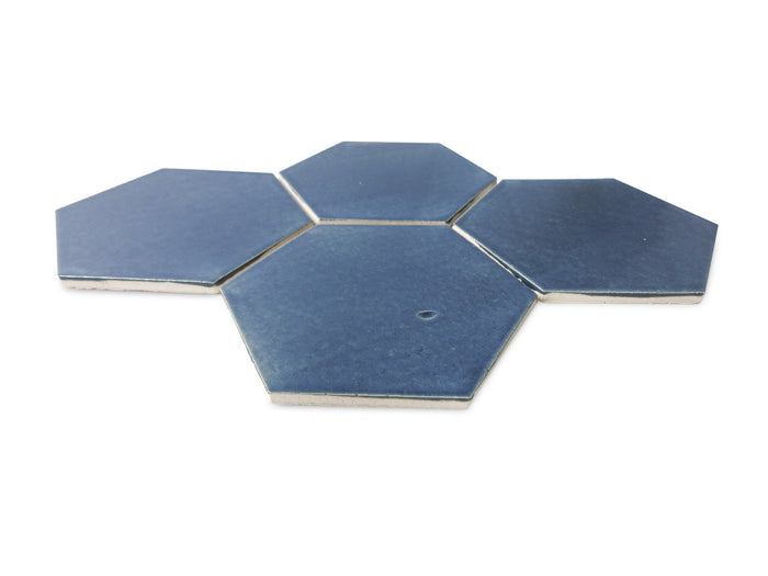 Large Hexagon - 1013 Denim