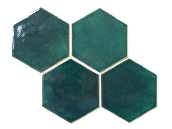 Large Hexagon - 1036W Bluegrass