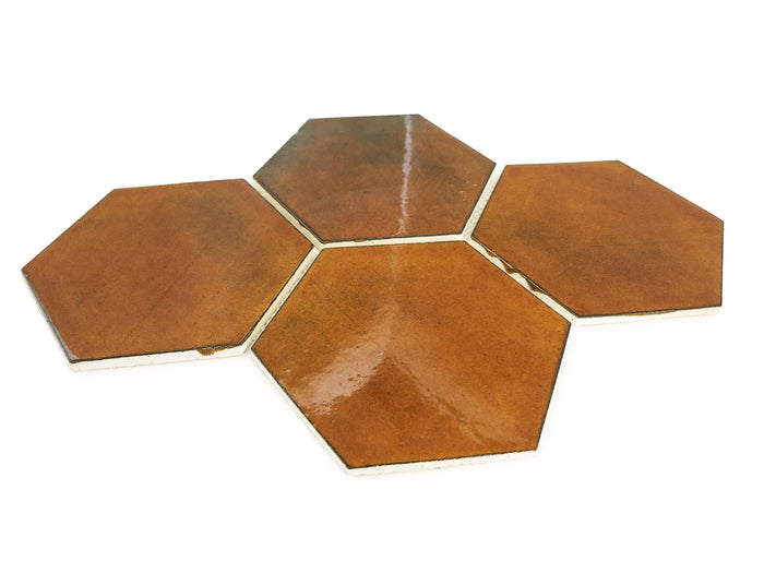 Large Hexagon - 65W Amber