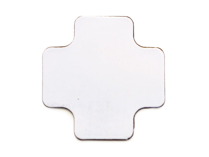 Large Moroccan Cross - 130 White