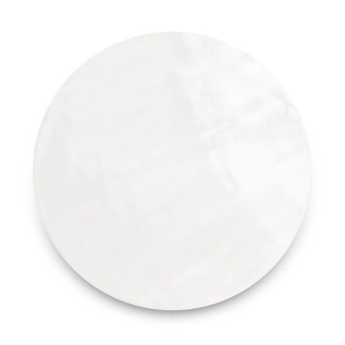 Large Penny Rounds Tile - 11 Deco White