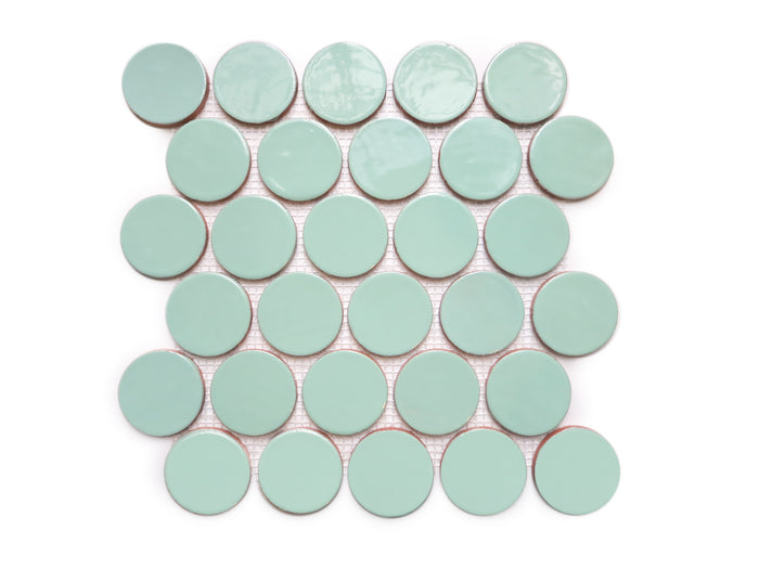 Large Penny Rounds - 32 Canton Jade