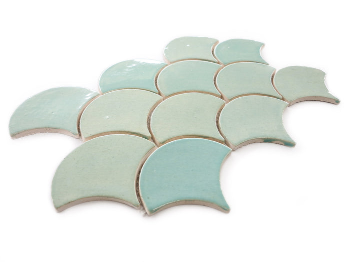 Medium Moroccan Fish Scales - 214 Coastal Breeze