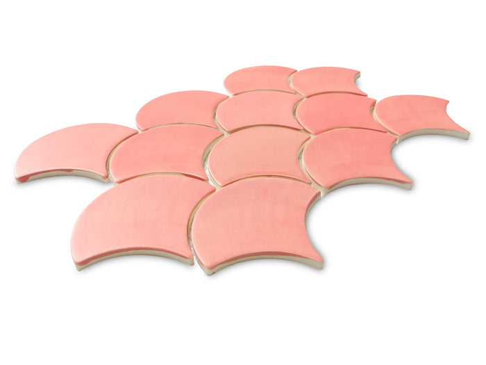 Medium Moroccan Fish Scales - 309E Grapefruit