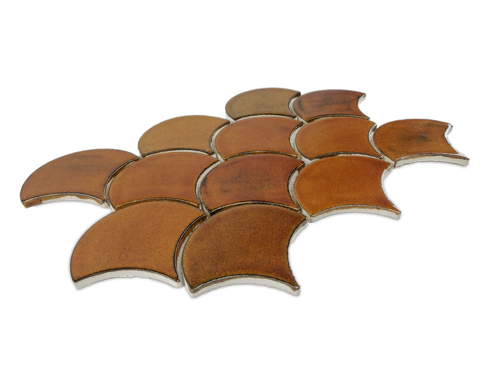 Medium Moroccan Fish Scales - 65W Amber