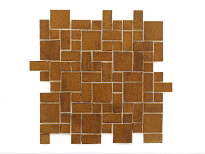 Small Craftsman Squares - 112 Saddle Clove