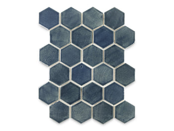 Small Hexagon - 1013 Denim