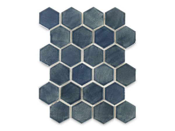 Regular Hexagon - 1013 Denim