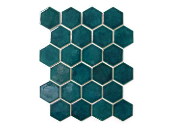Small Hexagon - 1036W Bluegrass