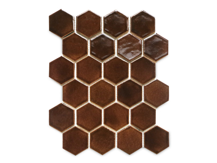 Regular Hexagon - 1673 Espresso