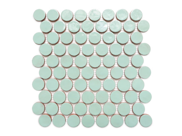 Penny Rounds Tile Sheet - 32 Canton Jade
