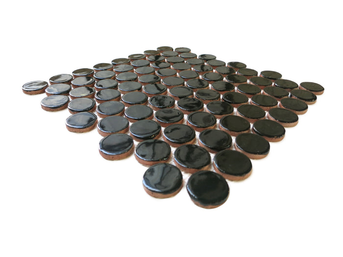 Regular Penny Rounds - 613 Black