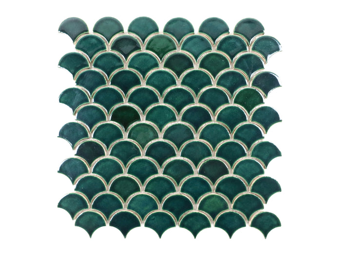 Small Moroccan Fish Scales - 1036W Bluegrass