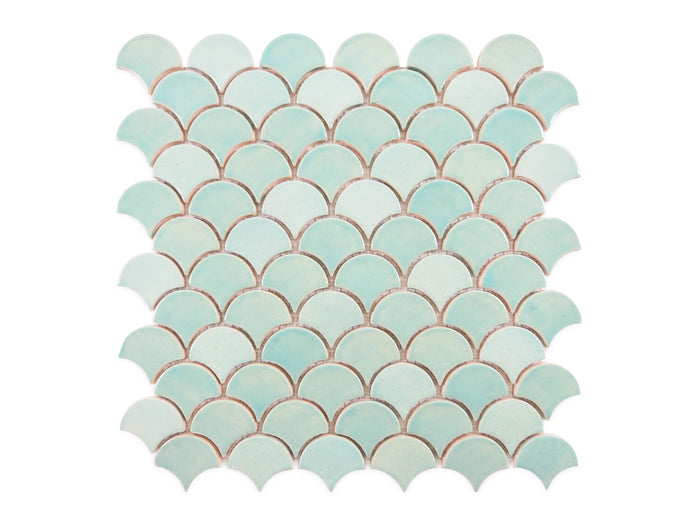 Small Moroccan Fish Scales - 214 Coastal Breeze