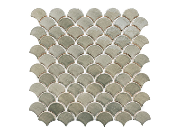 Small Moroccan Fish Scales - 220 Sooty Grey