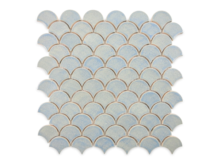 Small Moroccan Fish Scales - 22W Blue Opal