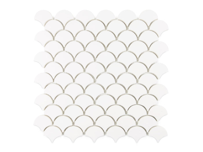 Small Moroccan Fish Scales - 301 Marshmallow