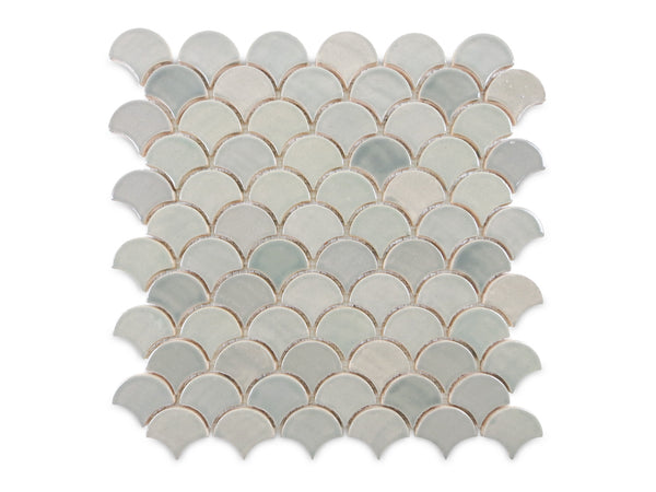 Small Moroccan Fish Scales 815W Light Grey