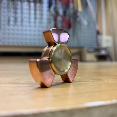 Mirror Polished Copper PB Nano