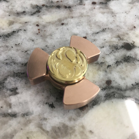 Copper Phat Boy Nano with Brass Dragon Caps