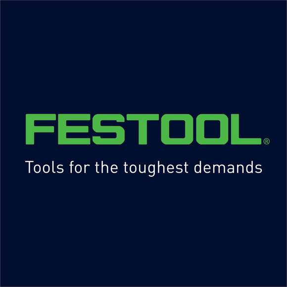 Festool logo - tools for the toughest demands