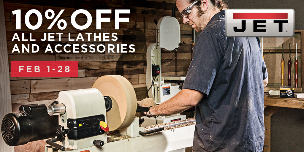 Jet Lathe Sale - 10% off in February