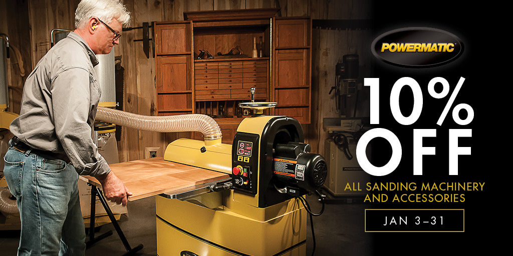 10% off all Powermatic Sanding Machinery & Accessories