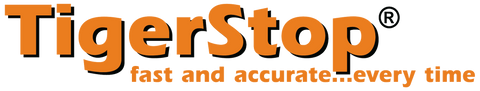 TigerStop Logo - fast and accurate...every time