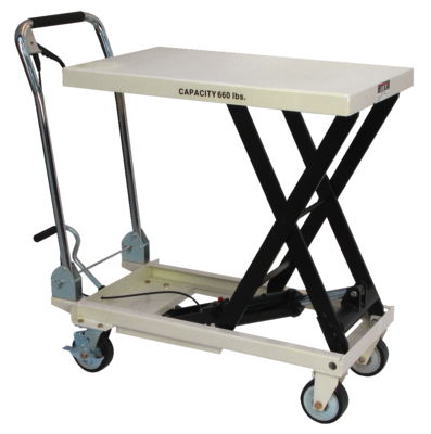 JET SLT-660F, Scissor Lift Table With Folding Handle
