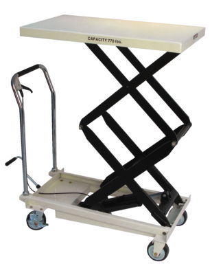 JET DSLT-770, Double Scissor Lift Table