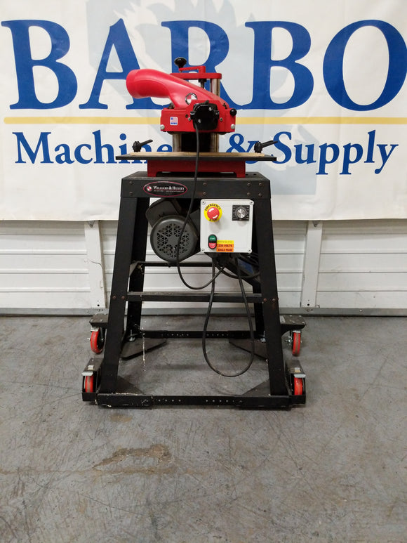 WILLIAM AND HUSSEY 206 Molder w/ Mobile Base