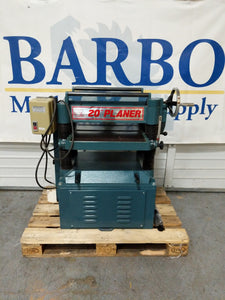"NORTH STATE 20"" Planer with Infeed/Outfeed Rollers"