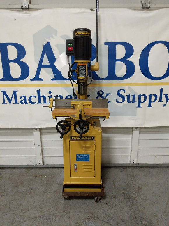 POWERMATIC 719A Mortiser Machine w/ Mobile Base