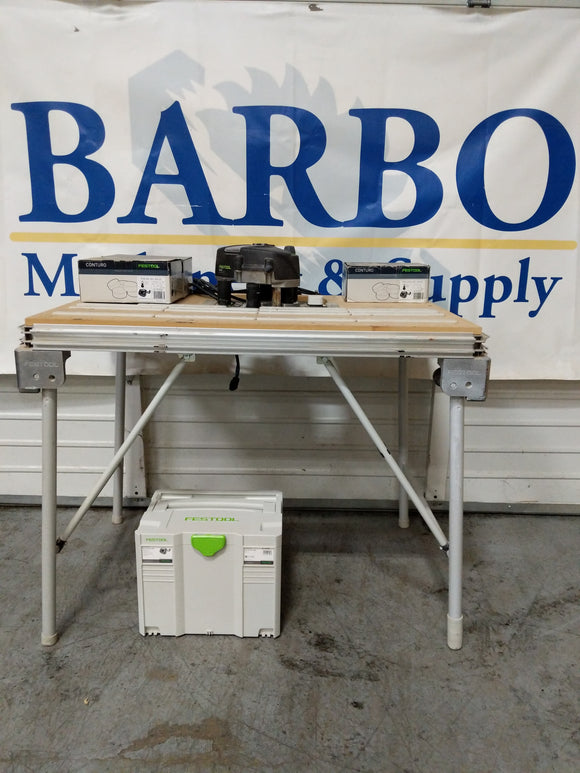 FESTOOL Conturo Edge Bander w/ MFT Table and Glue
