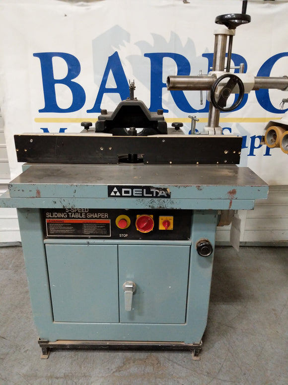 DELTA Sliding Table Shaper 1-1/4