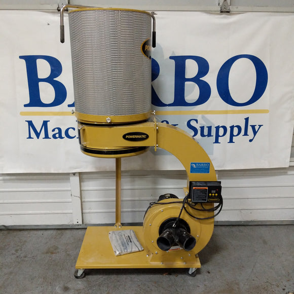POWERMATIC 1300 Dust Collector w/ 2 Micron Filter Canister