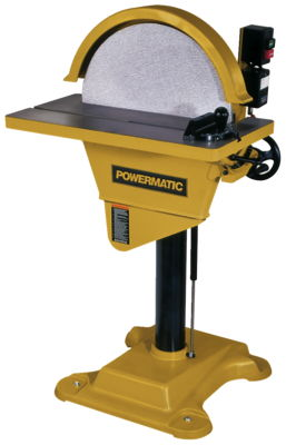 Powermatic DS20 Disc Sander, 3HP 3PH 230/460V