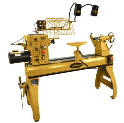 Powermatic 4224B Lathe with Lamp Kit