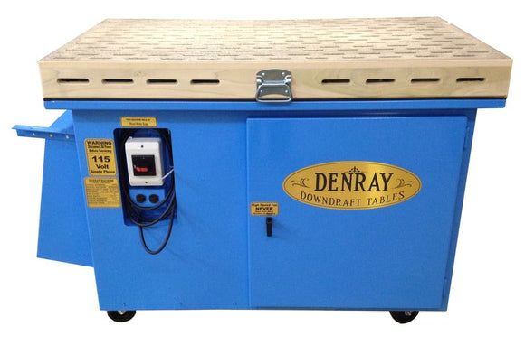 Denray Tube Filter Downdraft Tables