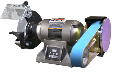 JET IBGM-8VS Industrial Variable Speed Grinder with Multitool Attachment