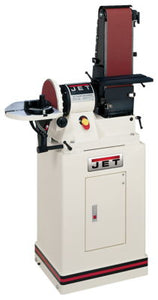 "JET JSG-96CS, 6"" x 48"" Belt / 9"" Disc Sander with Closed Stand, 3/4HP 1Ph, 115V"