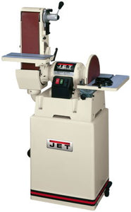 "JET JSG-6CS, 6"" x 48"" Belt / 12"" Disc Sander with Closed Stand"