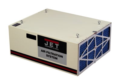 JET AFS-1000B, 1000 CFM Air Filtration System, 3-Speed, with Remote Control