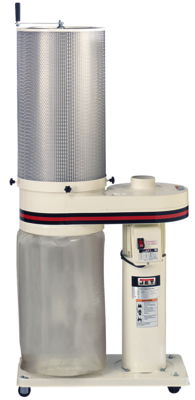JET 650 CFM Dust Collector with 2 Micron Canister Filter
