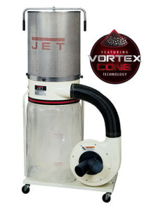 JET DC-1200VX-CK1 Dust Collector, 2HP 1PH 230V, 2-Micron Canister Kit