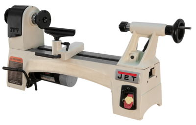 JET JWL-1015VS 10'' x 15'' Variable Speed Wood Lathe