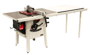 "JET The JPS-10 1.75 HP 115V 52"" Proshop Tablesaw with Cast wings"