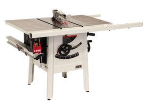 "JET The JPS-10 1.75 HP 115V 30"" Proshop Tablesaw with Steel wings"