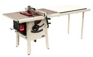 "JET The JPS-10 1.75 HP 115V 52"" Proshop Tablesaw with Steel wings"