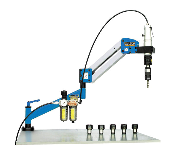 Baileigh - ATM-27-1000 - Single Arm Air Powered Tapping Machine